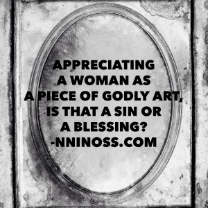 Appreciating a woman