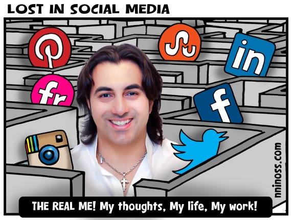 lost in social media