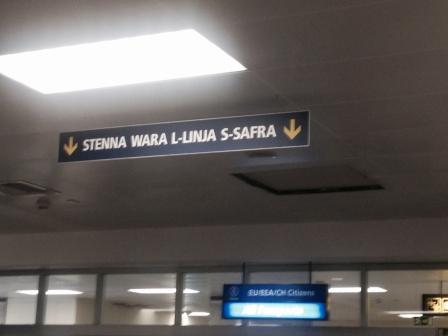 Malta's airport